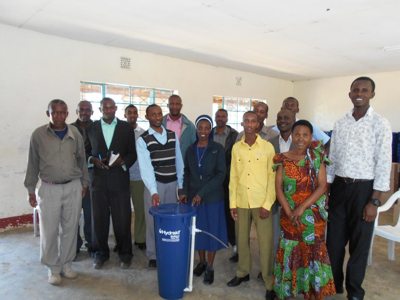 Clean water teacher training