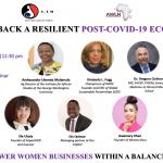 Building Back a Resilient Post Covid-19 Economy Webinar