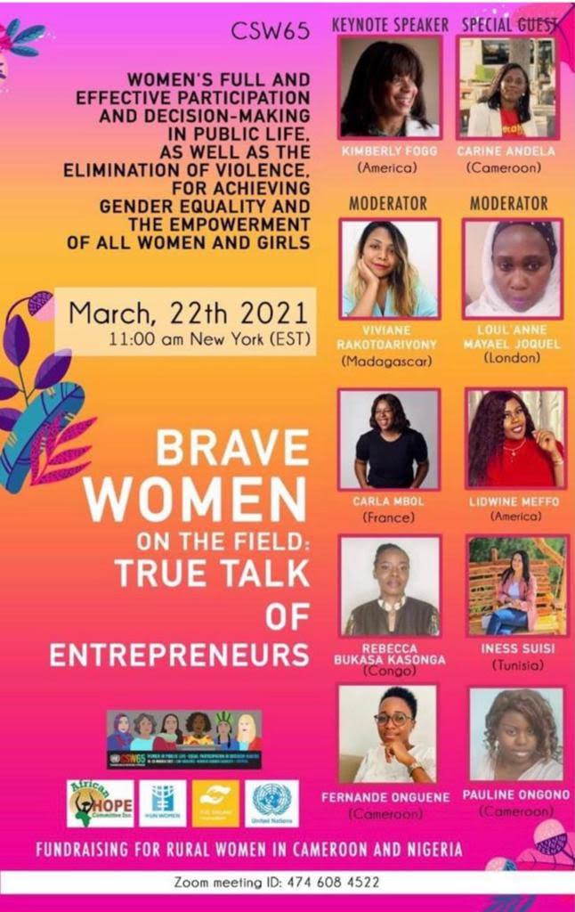 Brave Women on the Field True Talk of Entrepreneurs